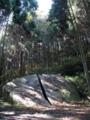 一刀石 天石立神社奥  奈良県奈良市柳生町 高さ約2.5m、幅約7m