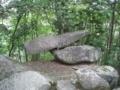 ゆるぎ岩 岩神神社  岡山県赤磐市惣分 長さ 台石約4m 舟形石約5m