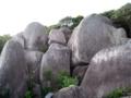 唐人石 巨石群  高知県土佐清水市松尾