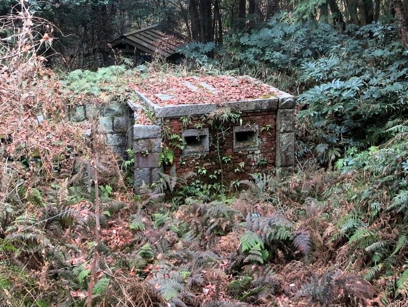 日露戦争旅順模擬要塞 石清尾山  香川県高松市西宝町