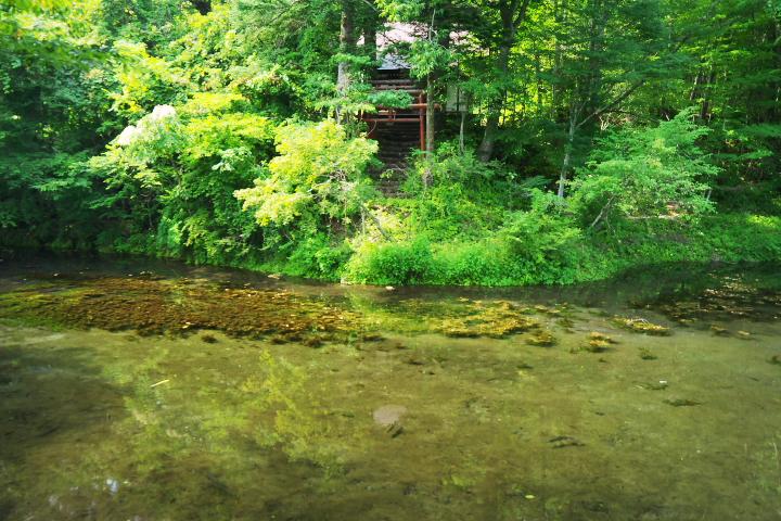 一番霊場 出口池