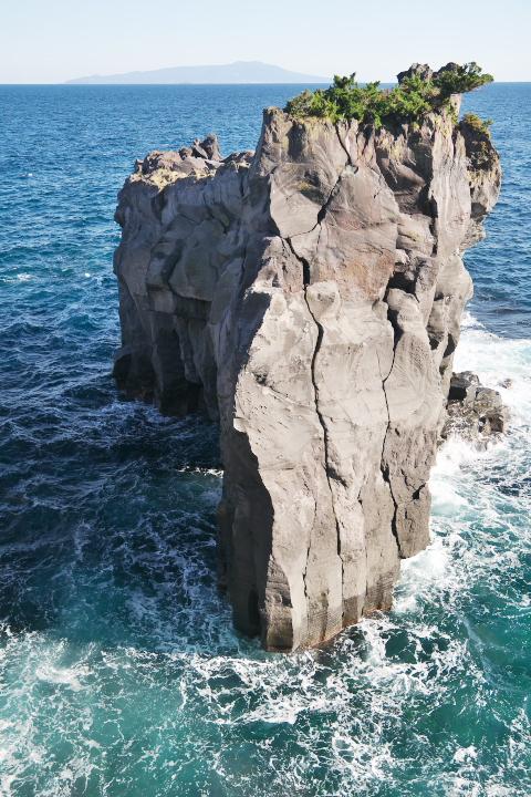 城ヶ崎のつばくろ島