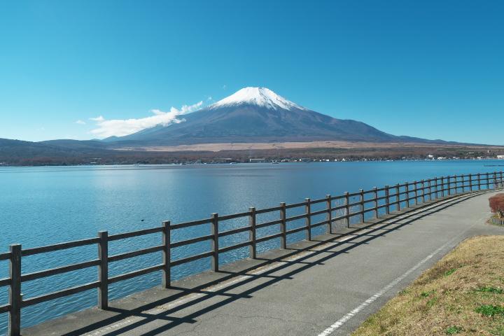 長池親水公園からの富士山