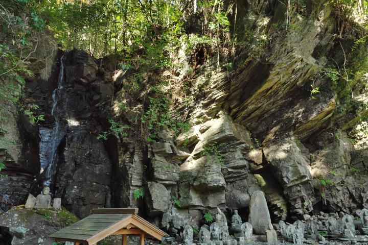 修禅寺奥の院阿吽の滝