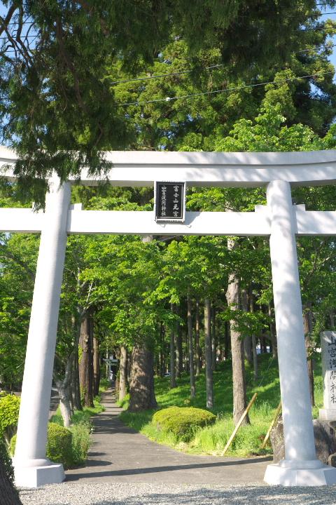 山宮浅間神社参道入口