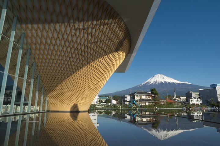 静岡県富士山世界遺産センターと富士山