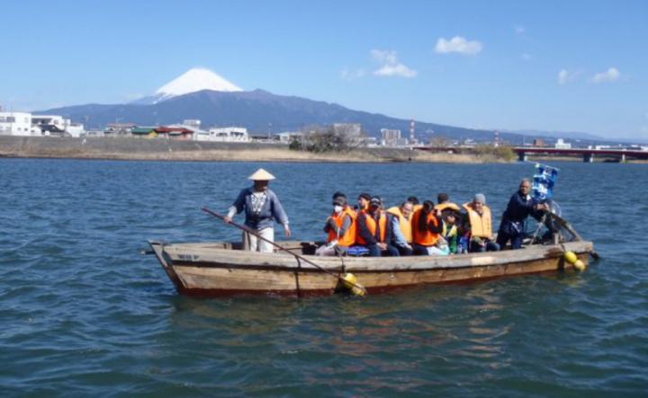 沼津 我入道の渡し船