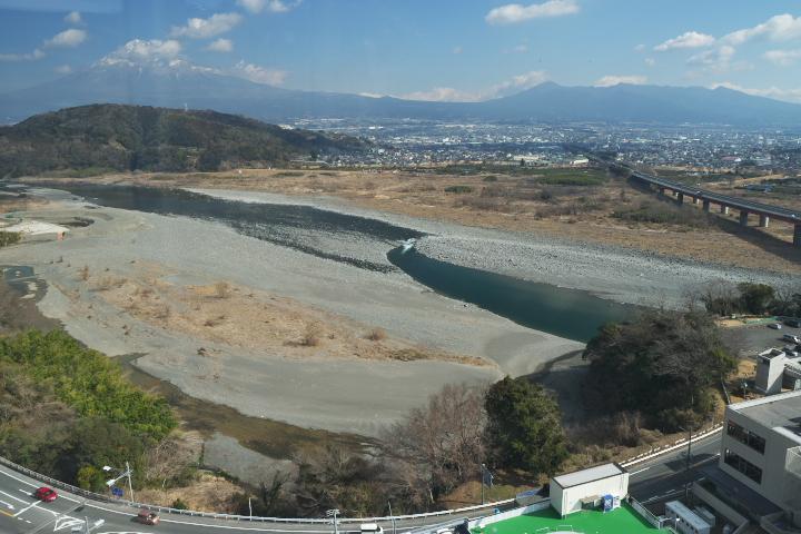 フジスカイビューからの富士山方向