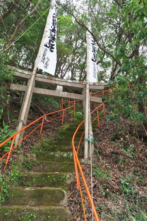 安良里港 神社