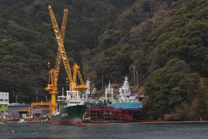 安良里港 造船所