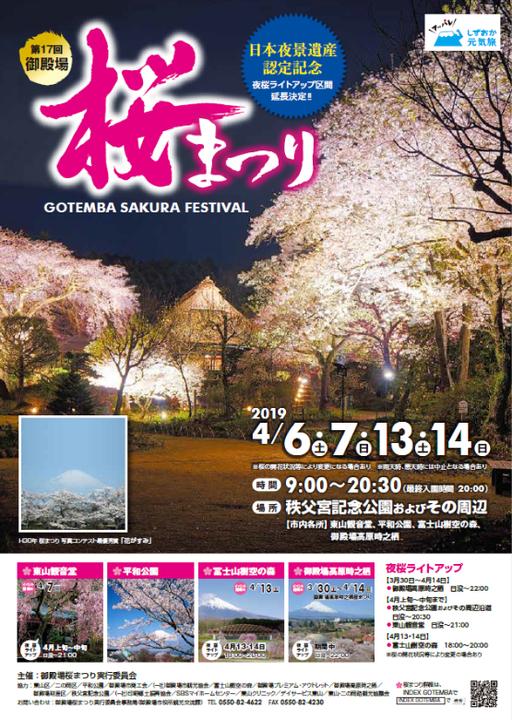 御殿場桜祭り