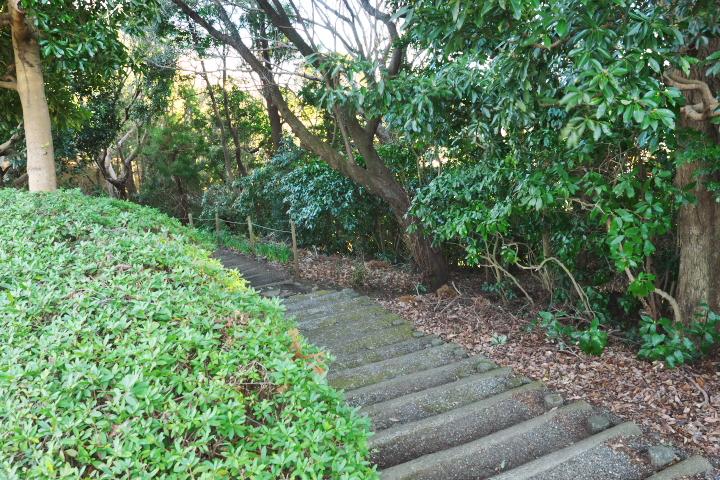 岩本山公園 近道出口