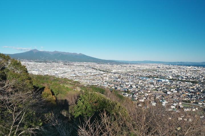 岩本山公園 展望台から愛鷹山