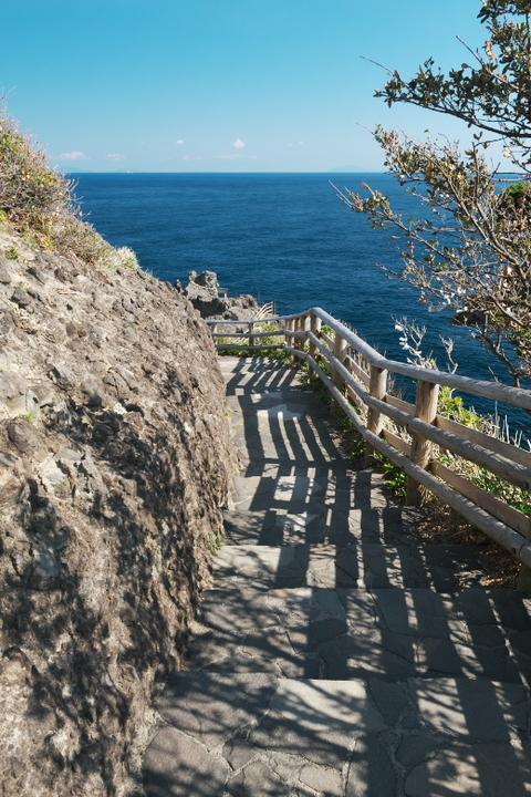 石廊崎 階段