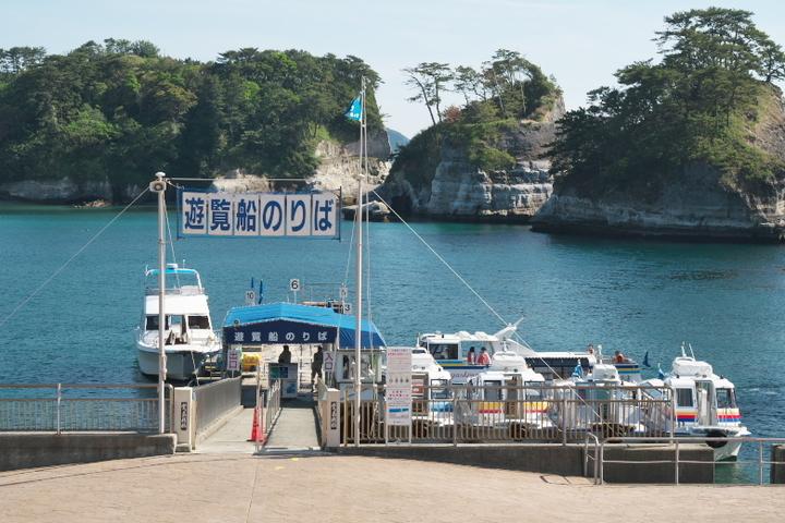 堂ヶ島 遊覧船降り場