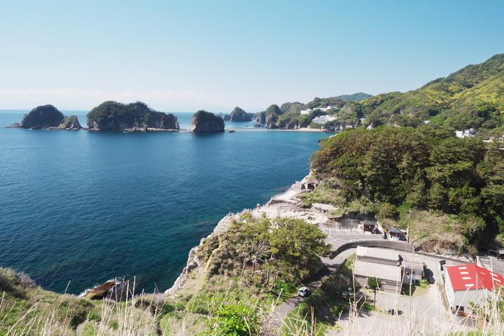 沢田公園 灯台跡からの眺め