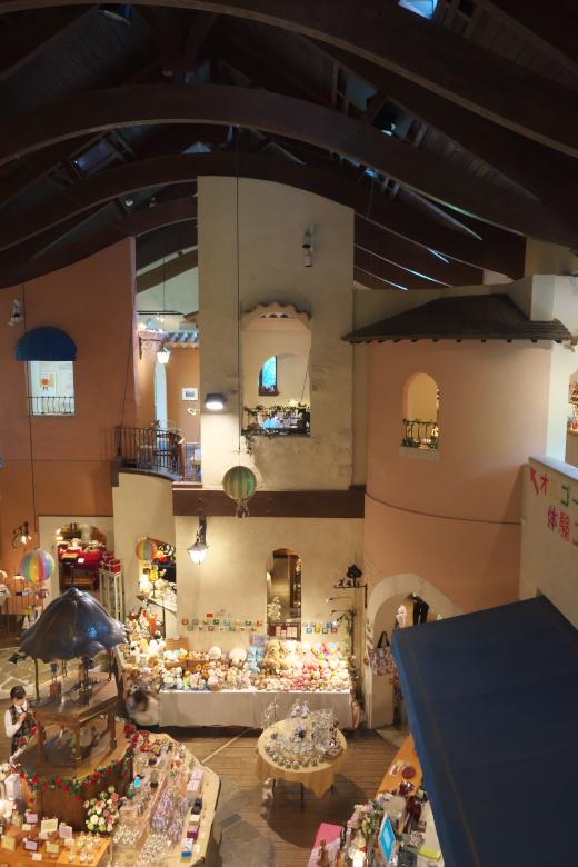 河口湖 オルゴールの森 おとぎの国のミュージアムショップ 店内