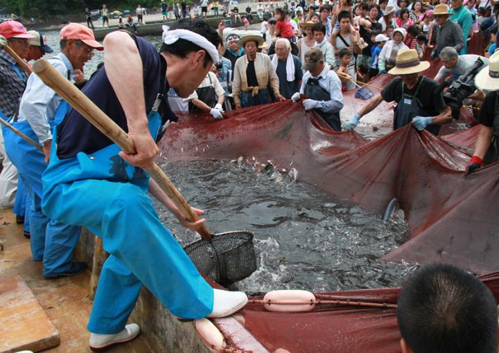 5日(日)松崎 石部海水浴場で開催予定の石部温泉大地曳き網まつりは中止 ...