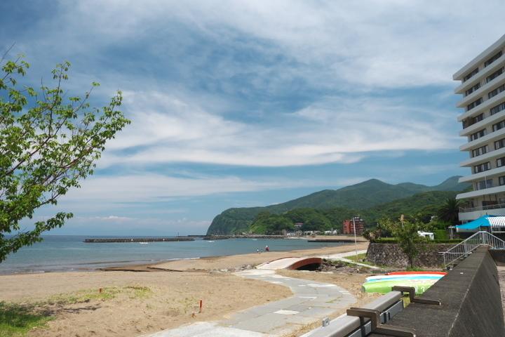 土肥海水浴場2