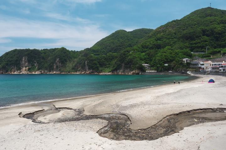 岩地海水浴場2