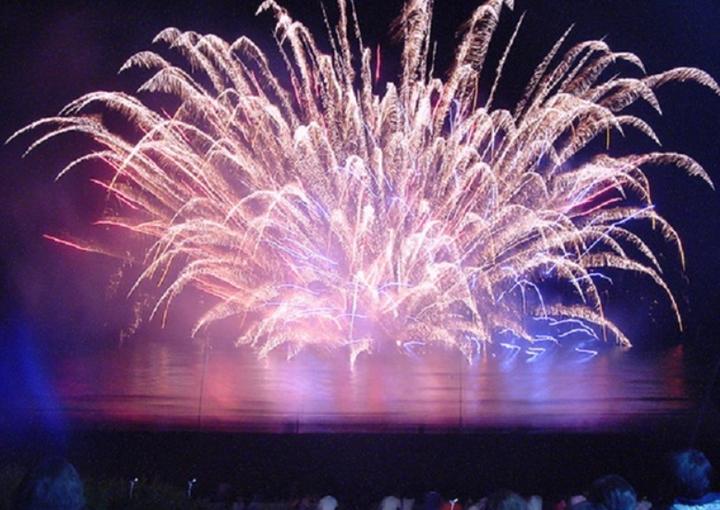 伊豆白浜 海の祭典 納涼花火大会