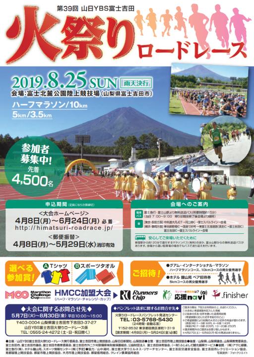 富士吉田火祭りロードレース