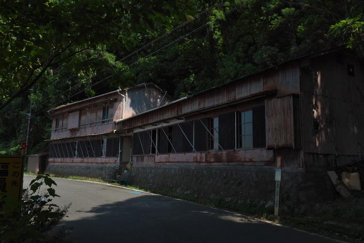 若松海水浴場 海の家跡