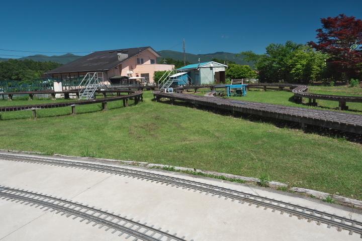日本庭園鉄道 敷地