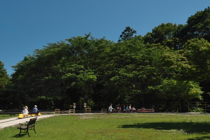 日本庭園鉄道 桜