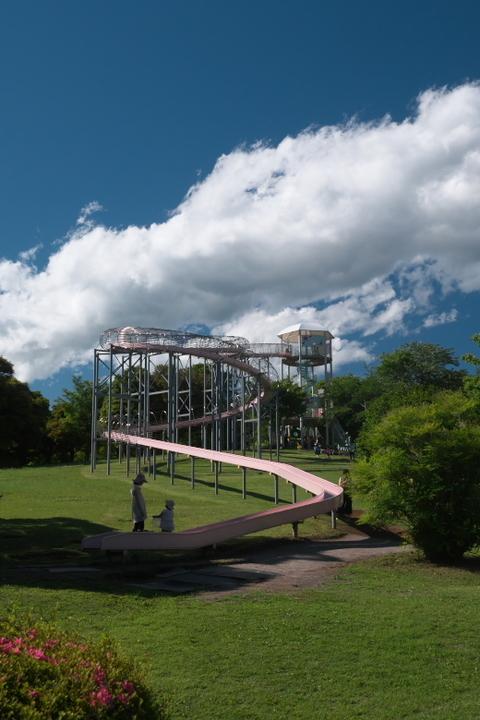 裾野市運動公園 ローラー滑り台
