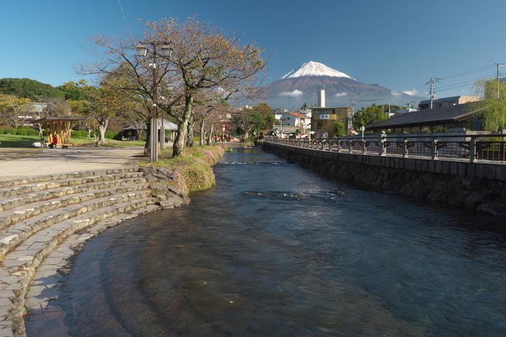 浅間大社からの富士山