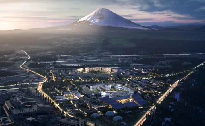 トヨタ実験都市 Woven City