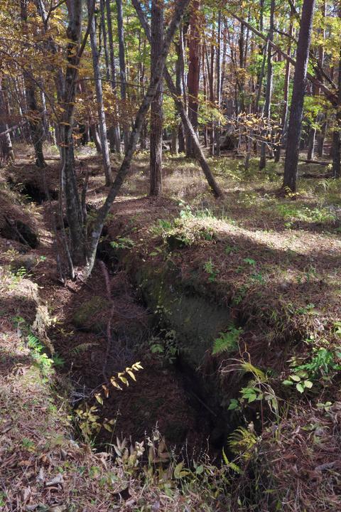 雁ノ穴 溶岩溝