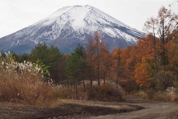 北富士演習場からの富士山