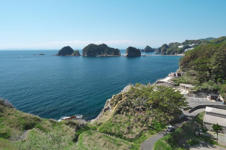 沢田公園から三四郎島