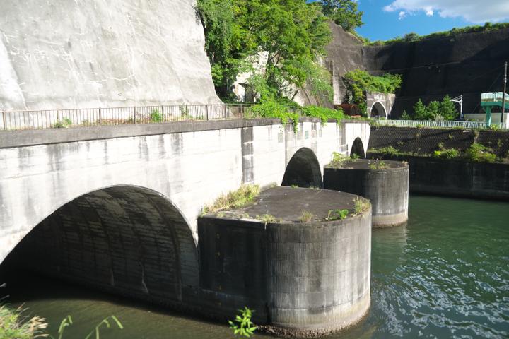 狩野川放水路排出口