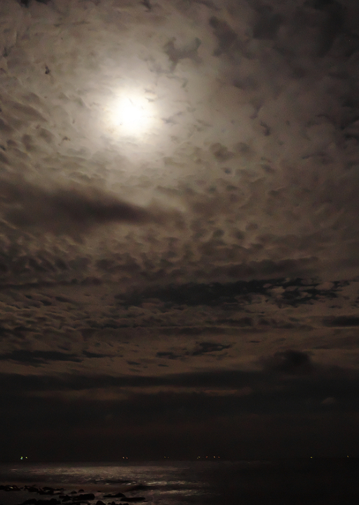稲取からの中秋の名月