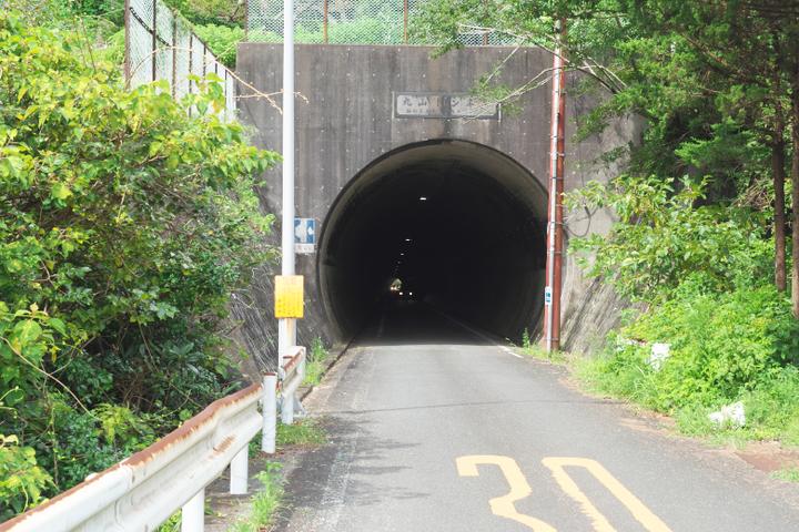 落居 トンネル