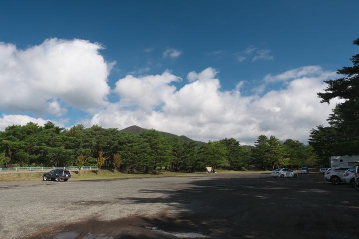 本栖湖キャンプ場 竜ヶ岳登山者駐車場