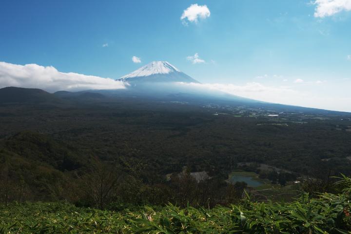 富士山と竜神池
