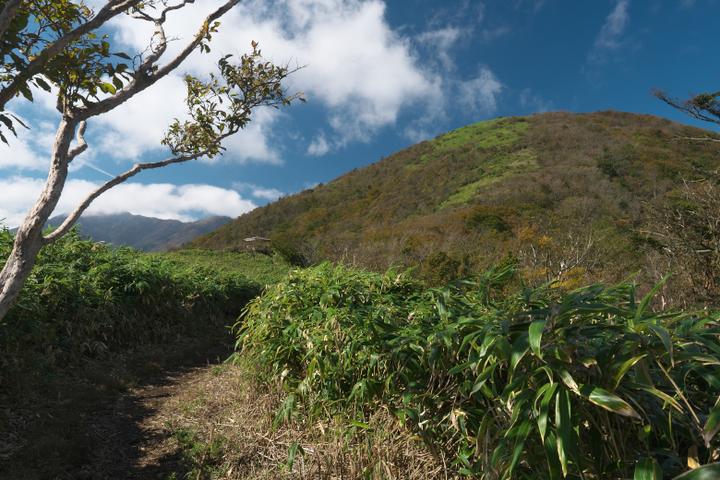 竜ヶ岳と展望台