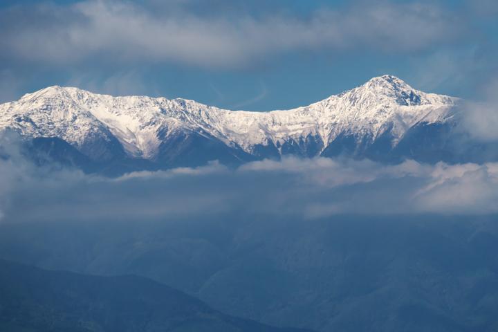竜ヶ岳山頂 南アルプス 北岳