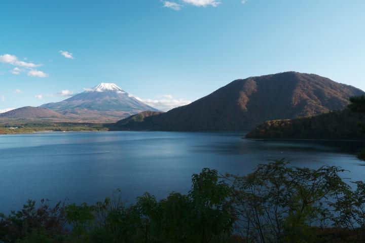 本栖湖 竜ヶ岳