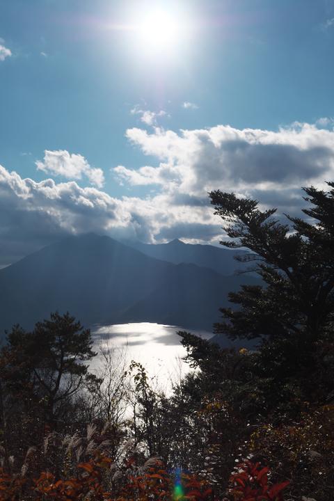 パノラマ台からの本栖湖
