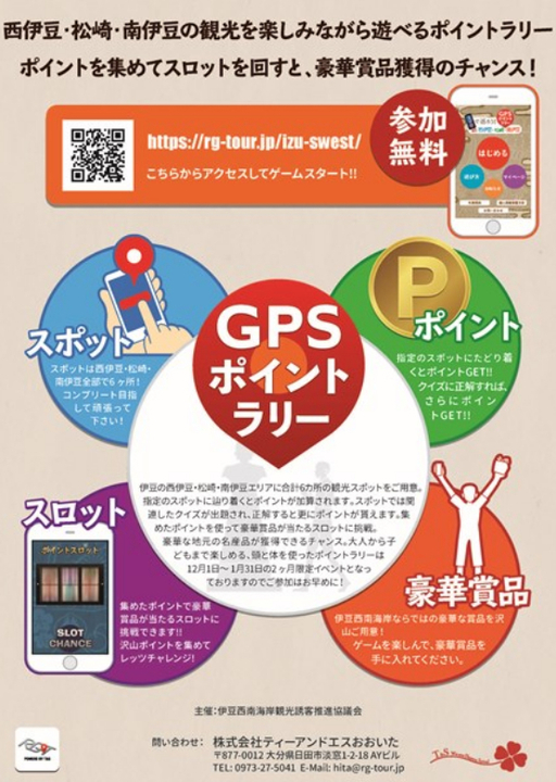 伊豆西南海岸GPSポイントラリー2