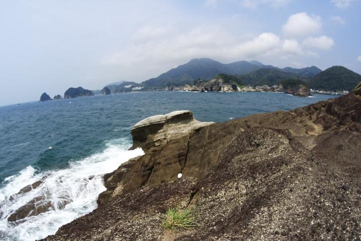 安城岬 ふれあい公園 亀甲岩1
