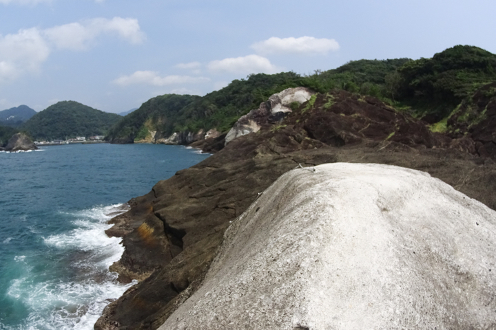 安城岬 ふれあい公園 亀甲岩5