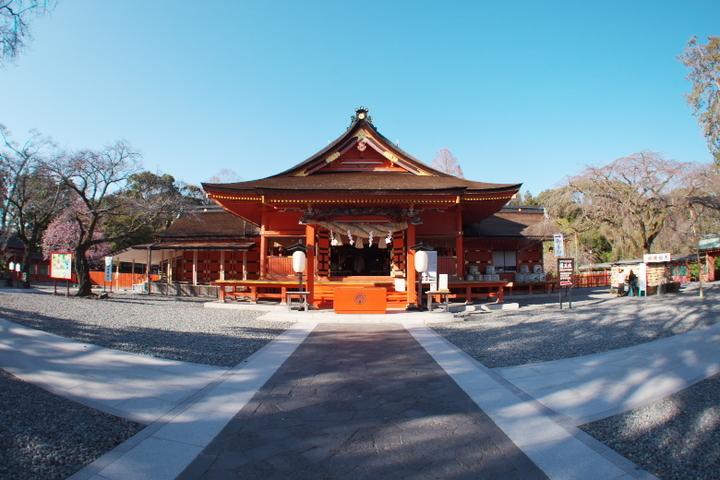 浅間大社 拝殿