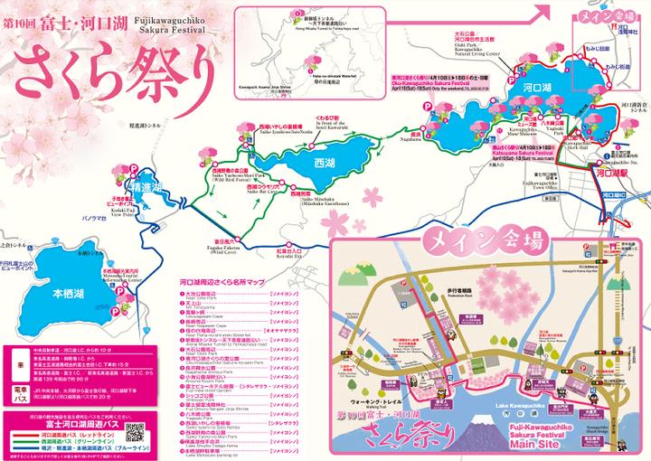 第10回富士・河口湖さくら祭り2