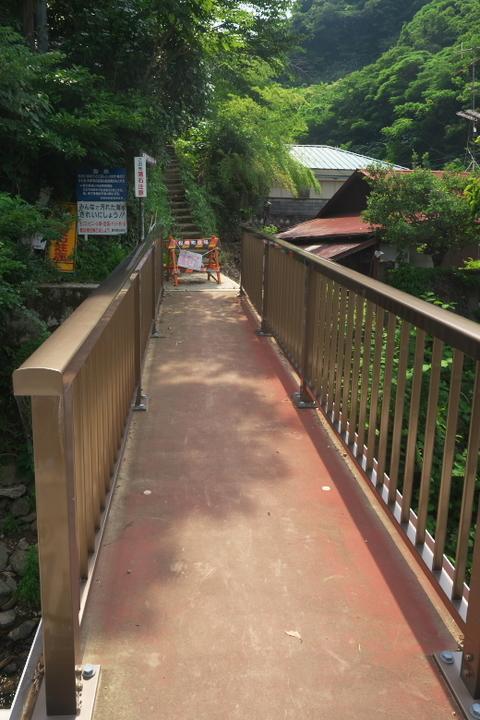 千貫門ビーチの橋